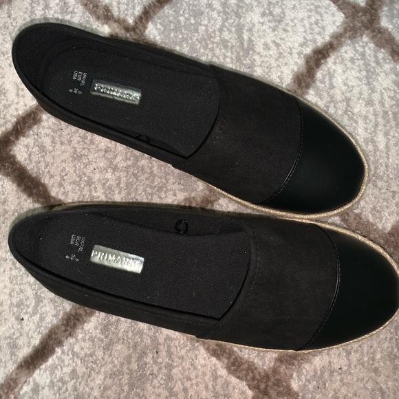 Primark Shoes | Black New Espadrilles